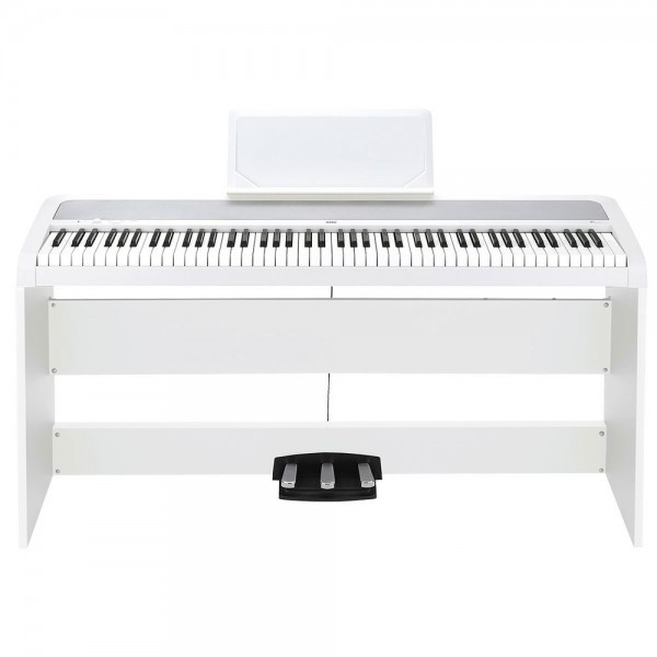 KORG DIGITAL PIANO 88 KEYS ΜΕ ΒΑΣΗ ΣΤΗΡΙΞΗΣ & 3 ΠΕΤΑΛΙΑ