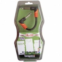 Ενισχυτες Οργανων - Bespeco Patch Cable 15cm Οργάνου