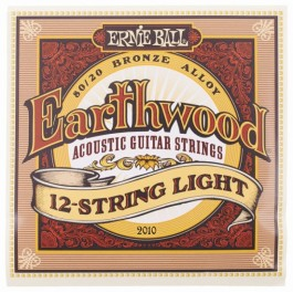 Ernie Ball Earthwood 12 String 80/20 Bronze Light 009-46 Ακουστική Κιθάρα