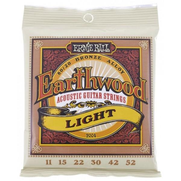 Ernie Ball Earthwood 80/20 Bronze Light 011-52 Ακουστική Κιθάρα