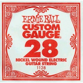 ERNIE BALL 1128 Slinky Nickel Μονή Χορδή Ηλεκτρικής Κιθάρας 028 ΧΟΡΔΕΣ ΜΟΝΕΣ ΗΛΕΚΤΡΙΚΗΣ ΚΙΘΑΡΑΣ ROUND
