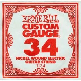 ERNIE BALL 1134 Slinky Nickel Μονή Χορδή Ηλεκτρικής Κιθάρας 034 ΧΟΡΔΕΣ ΜΟΝΕΣ ΗΛΕΚΤΡΙΚΗΣ ΚΙΘΑΡΑΣ ROUND