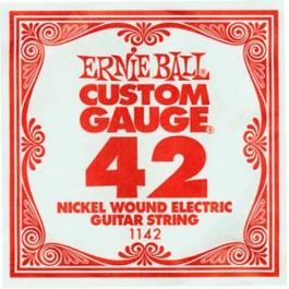 ERNIE BALL 1142 Slinky Nickel Μονή Χορδή Ηλεκτρικής Κιθάρας 042 ΧΟΡΔΕΣ ΜΟΝΕΣ ΗΛΕΚΤΡΙΚΗΣ ΚΙΘΑΡΑΣ ROUND