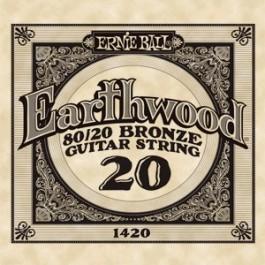 ERNIE BALL 1420 Earthwood Bronze Χορδή Ακουστικής Κιθάρας 020 ΧΟΡΔΕΣ ΜΟΝΕΣ ΑΚΟΥΣΤΙΚΗΣ