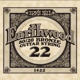 ERNIE BALL 1422 Earthwood Bronze Χορδή Ακουστικής Κιθάρας 022 ΧΟΡΔΕΣ ΜΟΝΕΣ ΑΚΟΥΣΤΙΚΗΣ