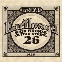 ERNIE BALL 1426 Earthwood Bronze Χορδή Ακουστικής Κιθάρας 026 ΧΟΡΔΕΣ ΜΟΝΕΣ ΑΚΟΥΣΤΙΚΗΣ