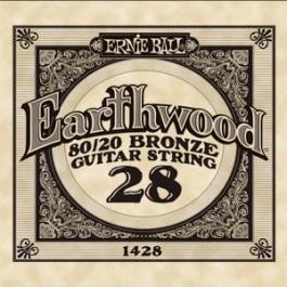 ERNIE BALL 1428 Earthwood Bronze Χορδή Ακουστικής Κιθάρας 028 ΧΟΡΔΕΣ ΜΟΝΕΣ ΑΚΟΥΣΤΙΚΗΣ