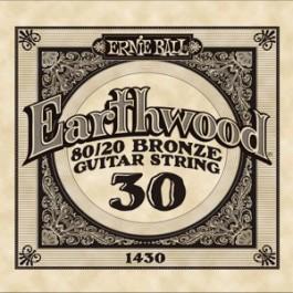 ERNIE BALL 1430 Earthwood Bronze Χορδή Ακουστικής Κιθάρας 030 ΧΟΡΔΕΣ ΜΟΝΕΣ ΑΚΟΥΣΤΙΚΗΣ