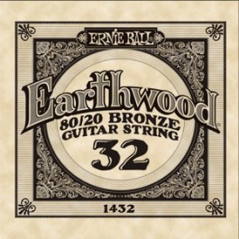 ERNIE BALL 1432 Earthwood Bronze Χορδή Ακουστικής Κιθάρας 032 ΧΟΡΔΕΣ ΜΟΝΕΣ ΑΚΟΥΣΤΙΚΗΣ