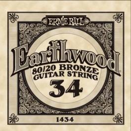 ERNIE BALL 1434 Earthwood Bronze Χορδή Ακουστικής Κιθάρας 034 ΧΟΡΔΕΣ ΜΟΝΕΣ ΑΚΟΥΣΤΙΚΗΣ
