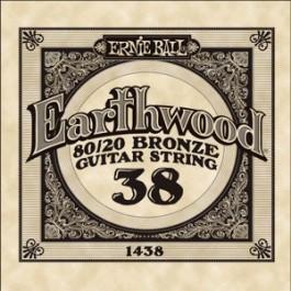 ERNIE BALL 1438 Earthwood Bronze Χορδή Ακουστικής Κιθάρας 038 ΧΟΡΔΕΣ ΜΟΝΕΣ ΑΚΟΥΣΤΙΚΗΣ