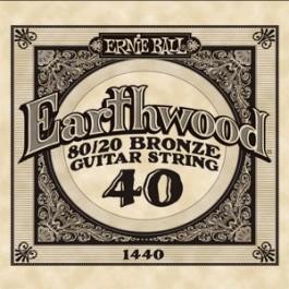 ERNIE BALL 1440 Earthwood Bronze  Χορδή Ακουστικής Κιθάρας 040 ΧΟΡΔΕΣ ΜΟΝΕΣ ΑΚΟΥΣΤΙΚΗΣ