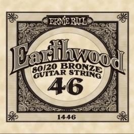 ERNIE BALL 1446 Earthwood Bronze Χορδή Ακουστικής Κιθάρας 046 ΧΟΡΔΕΣ ΜΟΝΕΣ ΑΚΟΥΣΤΙΚΗΣ