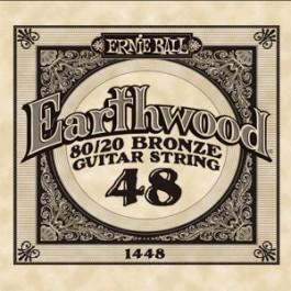 ERNIE BALL 1448 Earthwood Bronze Χορδή Ακουστικής Κιθάρας 048 ΧΟΡΔΕΣ ΜΟΝΕΣ ΑΚΟΥΣΤΙΚΗΣ