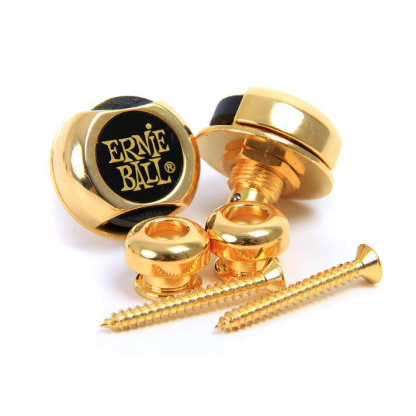 Ernie Ball Strap Lock Gold (EB4602)