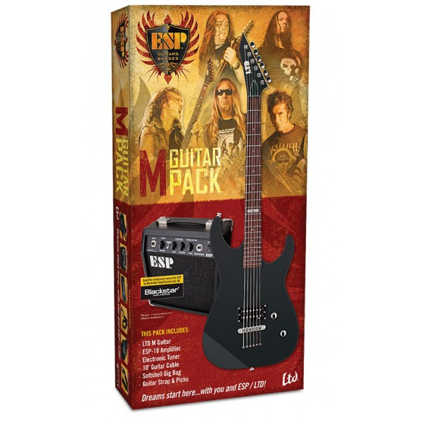 ESP LTD M-10 PACK Κιθάρα+Ενισχυτής+Αξεσουάρ
