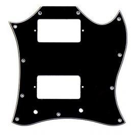 SG 2 Humbucker Full Face Black 3-Ply SG TYPE Μουσικα Οργανα - Κιθαρες - Kagmakis Guitars