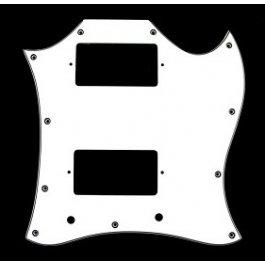 SG 2 Humbucker Full Face White 3-Ply SG TYPE Μουσικα Οργανα - Κιθαρες - Kagmakis Guitars