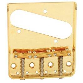 Bridge Telecaster Vintage 3-Saddle Gold ΓΕΦΥΡΕΣ ΚΙΘΑΡΑΣ Μουσικα Οργανα - Κιθαρες - Kagmakis Guitars