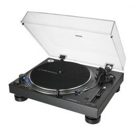 Audio Technica AT-LP140XP-USB Black - Professional Direct Drive Manual Turntable