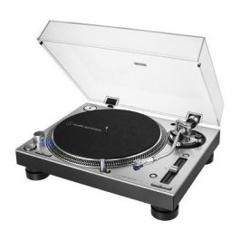 Audio Technica AT-LP140XP-USB Silver - Professional Direct Drive Manual Turntable
