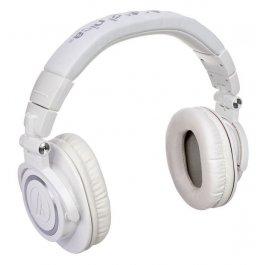 Audio Technica ATH-M50X White  ON EAR Μουσικα Οργανα - Κιθαρες - Kagmakis Guitars