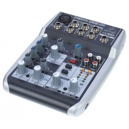 Behringer Mixer Xenyx Q502USB ΚΟΝΣΟΛΕΣ Μουσικα Οργανα - Κιθαρες - Kagmakis Guitars