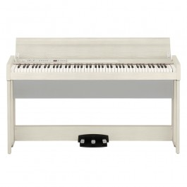 KORG C1 AIR WA DIGITAL PIANO 88 KEYS WITH BLUETOOTH WHITE ASH