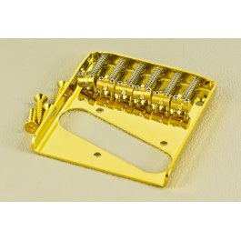 Bridge Telecaster Vintage 6-Saddle Gold ΓΕΦΥΡΕΣ ΚΙΘΑΡΑΣ Μουσικα Οργανα - Κιθαρες - Kagmakis Guitars