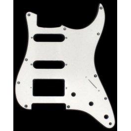 Strato HSS 3-Ply White STRATOCASTER Μουσικα Οργανα - Κιθαρες - Kagmakis Guitars