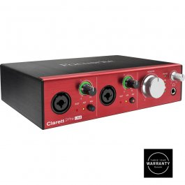 FOCUSRITE CLARETT 2 PRE USB AUDIO MIDI INTERFACE