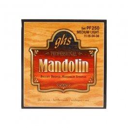 GHS PF250 ΣΕΤ ΧΟΡΔΕΣ BRIGHT BRONZE MANDOLIN ML 011-038