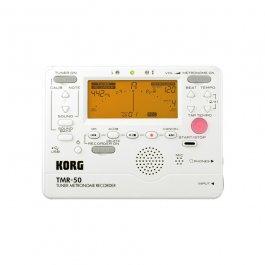 KORG TMR-50-PW DIGITAL TUNER METRONOME RECORDER WHITE