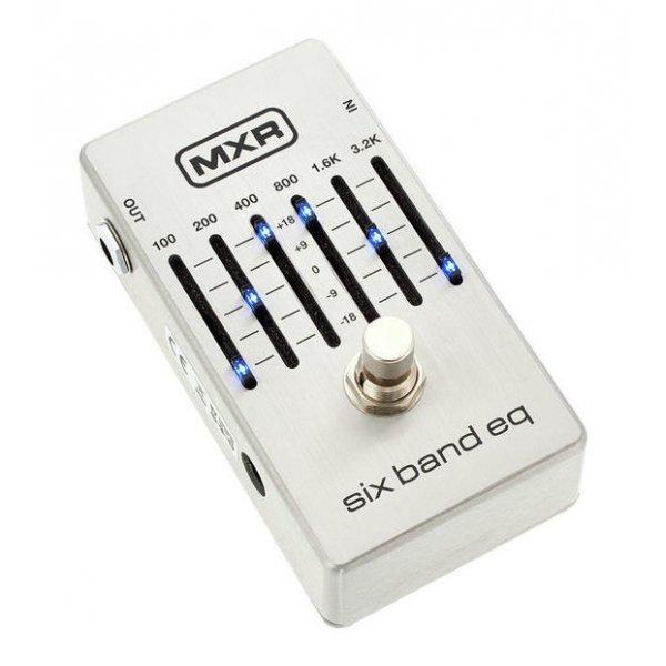 MXR 6 Band EQ Silver