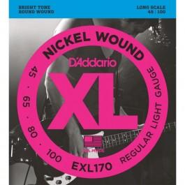 Daddario EXL170 45-100