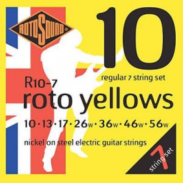 Rotosound Roto Yellows 010-056 7string (R10-7)