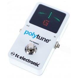 TC Electronic PolyTune 2 White ΚΟΥΡΔΙΣΤΗΡΙΑ Μουσικα Οργανα - Κιθαρες - Kagmakis Guitars