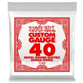 Ernie Ball 1140 Slinky Nickel Μονή Χορδή Ηλεκτρικής Κιθάρας 040 ΜΟΝΕΣ ΧΟΡΔΕΣ Μουσικα Οργανα - Κιθαρες - Kagmakis Guitars