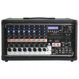 PEAVEY PVI8500 - 400 Watt RMS Αυτοενισχυόμενη κονσόλα ήχου ΚΟΝΣΟΛΕΣ Μουσικα Οργανα - Κιθαρες - Kagmakis Guitars