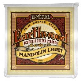 Ernie Ball 2067 Earthwood 80/20 Bronze Μαντολίνου Loop End Light  PRODUCTS FROM XML Μουσικα Οργανα - Κιθαρες - Kagmakis Guitars