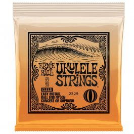 Ernie Ball 2329 Σέτ χορδών Ukulele Clear Nylon PRODUCTS FROM XML Μουσικα Οργανα - Κιθαρες - Kagmakis Guitars