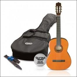 Kιθαρες - Ashton CG14P Πακέτο Κλασσικής Κιθάρας 1/4 Amber ΚΙΘΑΡΕΣ Μουσικα Οργανα -  Kagmakis Guitars