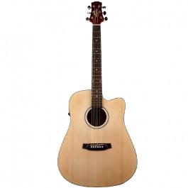 Kιθαρες - Ashton D20CEQ Ηλεκτροακουστική Κιθάρα Natural Satin ΗΛΕΚΤΡΟΑΚΟΥΣΤΙΚΕΣ Μουσικα Οργανα -  Kagmakis Guitars