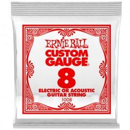 Ernie Ball 1008 Μονή Χορδή Plain 08 ΜΟΝΕΣ ΧΟΡΔΕΣ Μουσικα Οργανα - Κιθαρες - Kagmakis Guitars