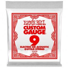 Ernie Ball 1009 Μονή Χορδή Plain 09 ΜΟΝΕΣ ΧΟΡΔΕΣ Μουσικα Οργανα - Κιθαρες - Kagmakis Guitars