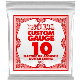 Ernie Ball 1010 Μονή Χορδή Plain 10 ΜΟΝΕΣ ΧΟΡΔΕΣ Μουσικα Οργανα - Κιθαρες - Kagmakis Guitars