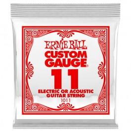 Ernie Ball 1011 Μονή Χορδή Plain 11 ΜΟΝΕΣ ΧΟΡΔΕΣ Μουσικα Οργανα - Κιθαρες - Kagmakis Guitars