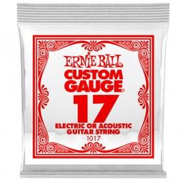 Ernie Ball 1017 Μονή Χορδή Plain 17 ΜΟΝΕΣ ΧΟΡΔΕΣ Μουσικα Οργανα - Κιθαρες - Kagmakis Guitars