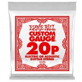 Ernie Ball 1020 Μονή Χορδή Plain 20P ΜΟΝΕΣ ΧΟΡΔΕΣ Μουσικα Οργανα - Κιθαρες - Kagmakis Guitars