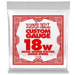Ernie Ball 1118 Slinky Nickel Μονή Χορδή Ηλεκτρικής Κιθάρας 018W ΜΟΝΕΣ ΧΟΡΔΕΣ Μουσικα Οργανα - Κιθαρες - Kagmakis Guitars